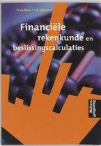 Boek cover Financiele rekenkunde en beslissingscalculaties van P. de Boer (Paperback)