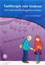 Boek cover Taaltherapie voor kinderen met taalontwikkelingsstoornissen van H.P.L.R. van den Dungen