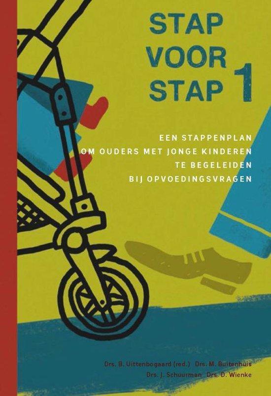 Boek cover Stap voor stap 1 van Bertil Uittenbogaard (Paperback)