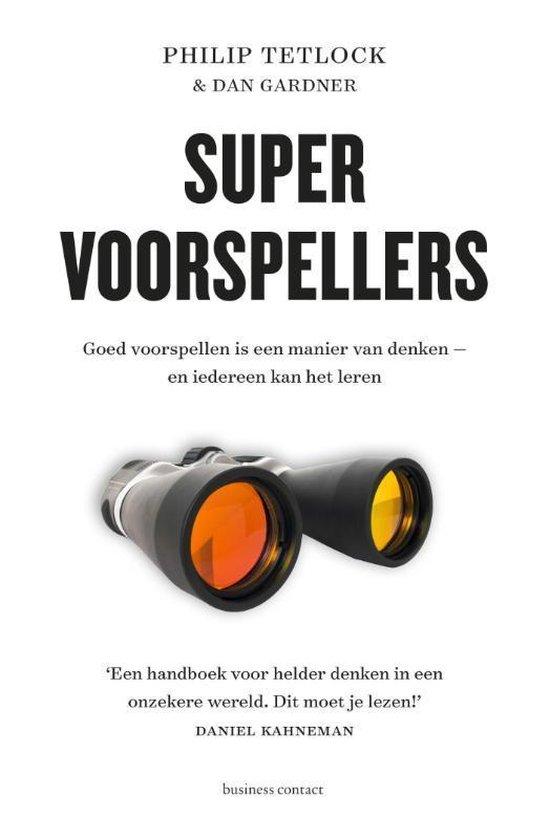 Boek cover Supervoorspellers van Philip Tetlock (Paperback)