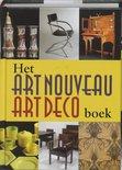 Het art nouveau art deco boek