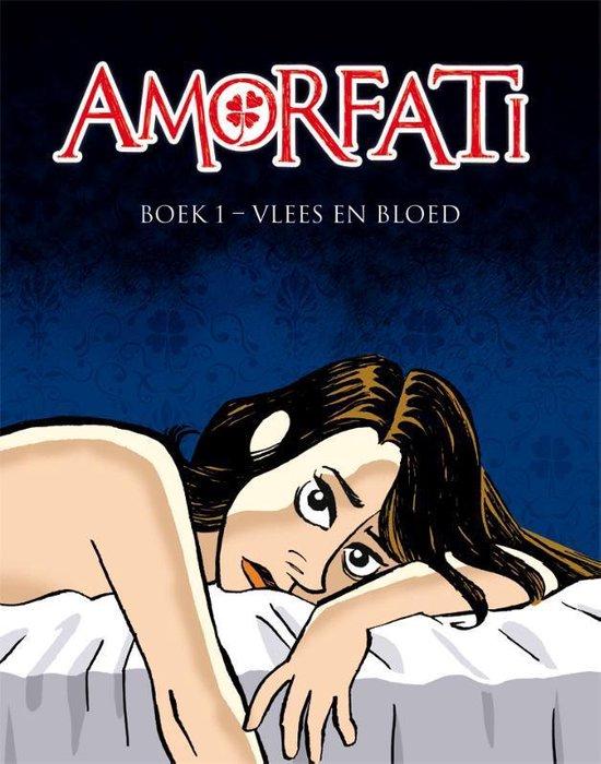Boek cover Amorfati 01. vlees en bloed van René Leisink (Paperback)
