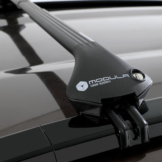 Modula dakdragers Bmw X3 5 deurs SUV 2010 t/m 2017 met geintegreerde dakrails