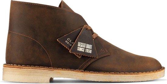 Clarks Desert boots Desert Boot Leather Bruin Maat:46