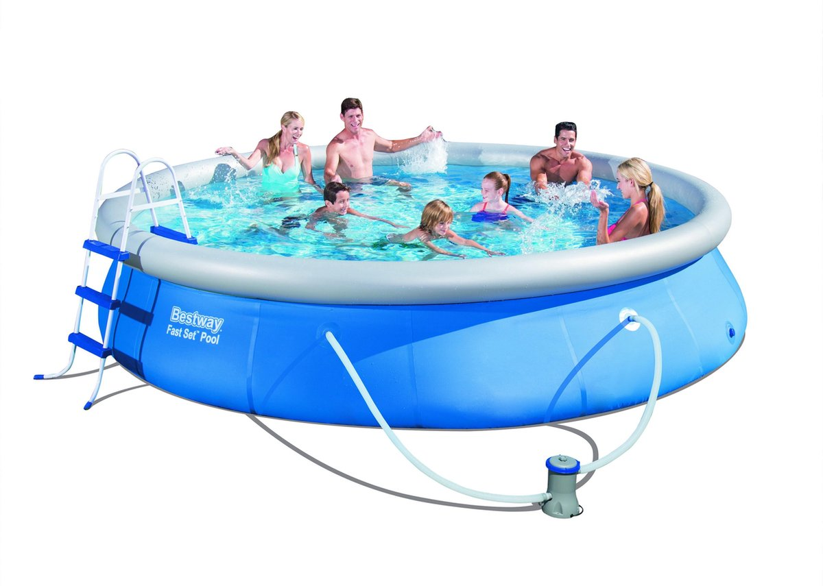 Bestway Fast Set Pool 4.57M x 84cm