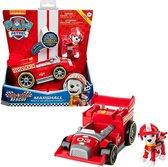 PAW Patrol, Race & Go luxe voertuig van Ready, Race, Rescue Marshall met geluiden, voor kinderen vanaf 3 jr.
