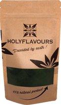 Spirulina Poeder - 100 gram - Holyflavours -  Biologisch gecertificeerd - Natuurlijk Superfood