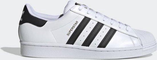 adidas Superstar Heren Sneakers - Cloud White/Core Black/Cloud White - Maat 41 1/3
