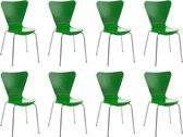 Clp Calisto - 8x Bezoekersstoel - Groen