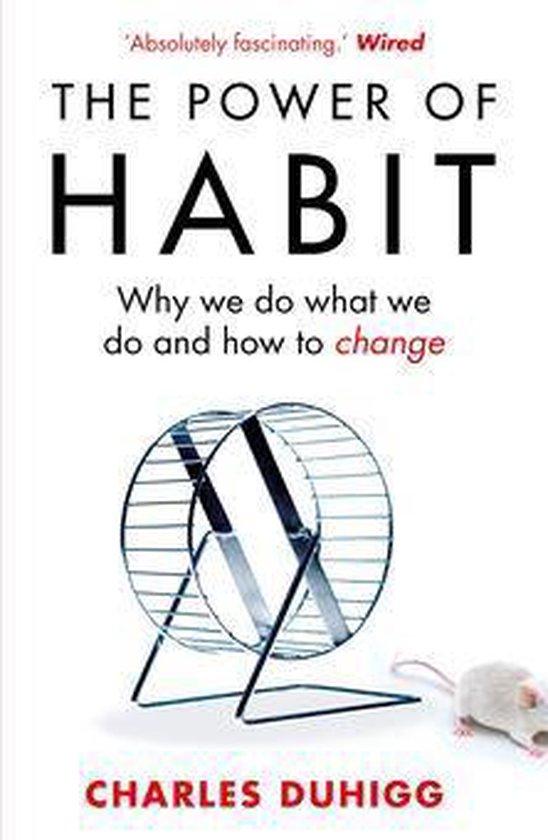 Boek cover The Power of Habit van Charles Duhigg (Onbekend)