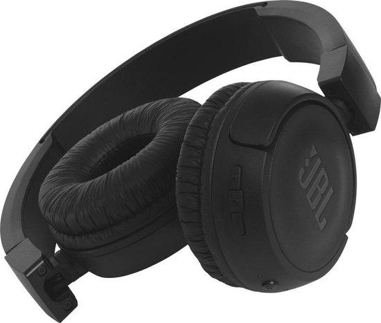 JBL T460BT Zwart - Draadloze on-ear koptelefoon
