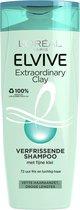 Bol.com-L'Oréal Paris Elvive Extraordinary Clay Shampoo - 6x 250ml - Voordeelverpakking-aanbieding