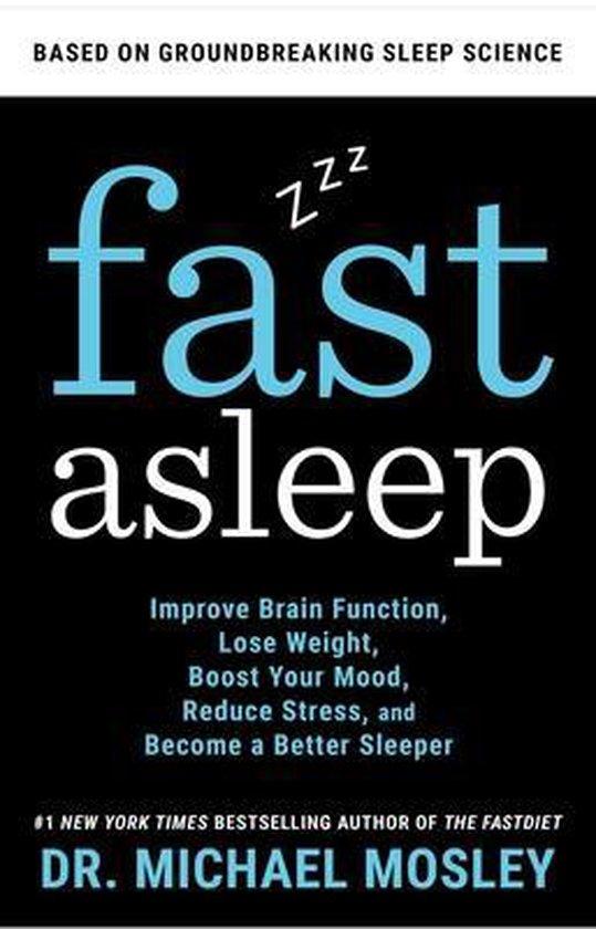 Boek cover Fast Asleep van Dr Michael Mosley (Hardcover)