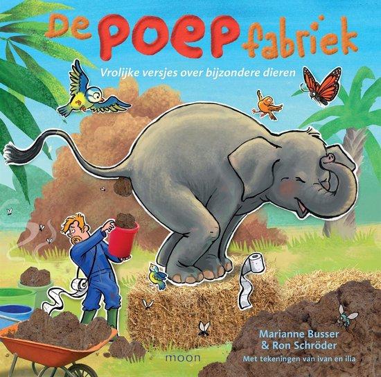 Boek cover De poepfabriek van Ron Schroder (Onbekend)