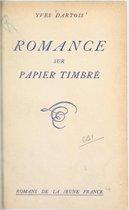 Romance sur papier timbré