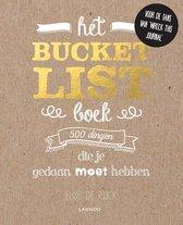 Omslag Het bucketlist-boek