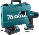 Makita HP457DW   18v   Klopboor-/schroefmachine   Geleverd met 1 accu