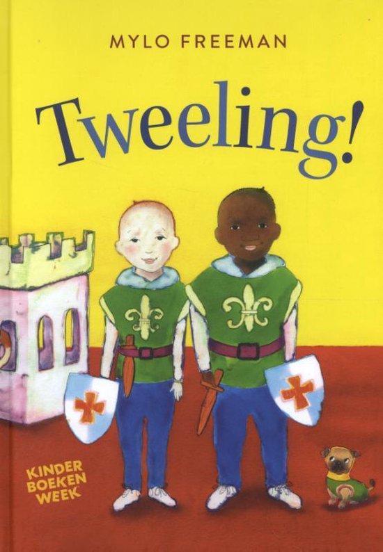 Boek cover Kinderboekenweek 2020  -   Tweeling! van Mylo Freeman (Hardcover)