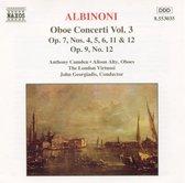 Albinoni: Oboe Concerti Vol 3 / Camden, Alty, Georgiadis