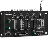 Amnesia 4-kanaals mixer mengpaneel BT USB MP3 2xmicro zwart