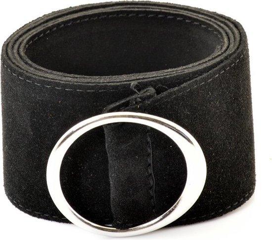 Riemen & Co Damesriem Tailleriem 2105 – Zwart – One Size Fits All