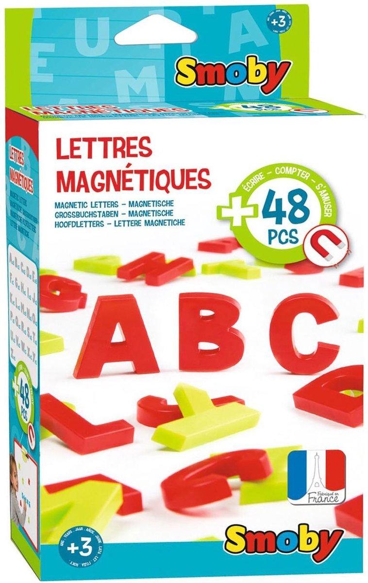 48 MAGNETISCH HOOFDLETTERS