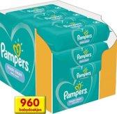 1 Doos Pampers Fresh Clean Babydoekjes XXL - 12 x 80 Stuks