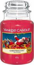 Yankee Candle Large Jar Geurkaars - Christmas Eve