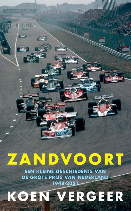 Boek cover Zandvoort van Koen Vergeer (Paperback)