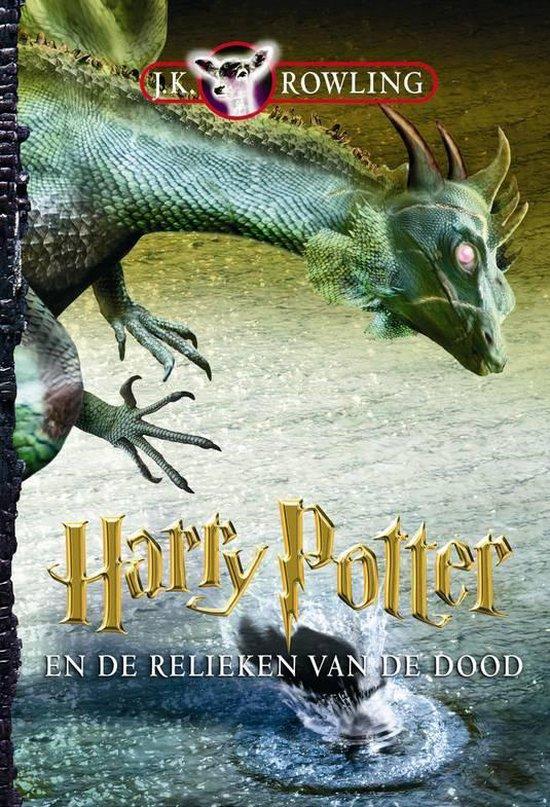 Cover van het boek 'Harry Potter en de relieken des doods' van J.K. Rowling