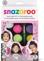 Snazaroo Schmink set Fantasy, in zachte kleuren