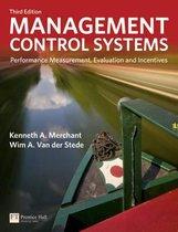 Boek cover Management Control Systems van Kenneth Merchant (Paperback)