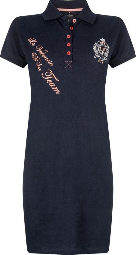 La Valencio Dress Sportive Helga - Navy - Maat XL