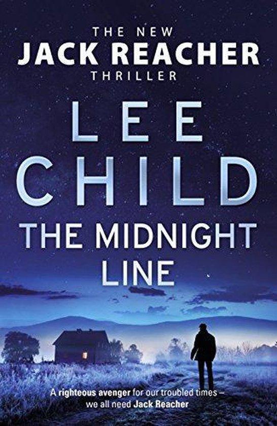 Omslag van The Midnight Line Jack Reacher 22