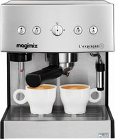 Magimix Espressoapparaat L'Expresso - Mat Chroom