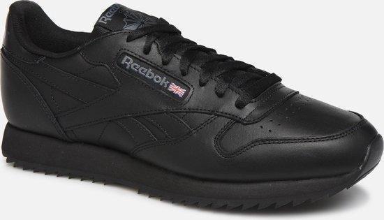 Reebok CL Leather Ripple MU Heren Sneakers - Black - Maat 44.5