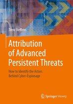 Attribution of Advanced Persistent Threats