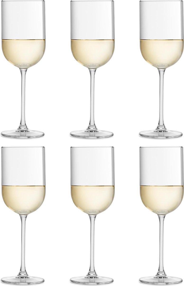 Libbey Wijnglas Skava - 32 cl / 320 ml - 6 stuks - rechte vorm - vaatwasserbestendig - hoge kwaliteit