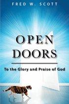 Boek cover Open Doors van Fred W. Scott