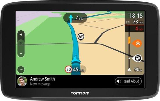 TomTom GO Basic 6 Europa (incl. dashboard discs en beschermhoes)