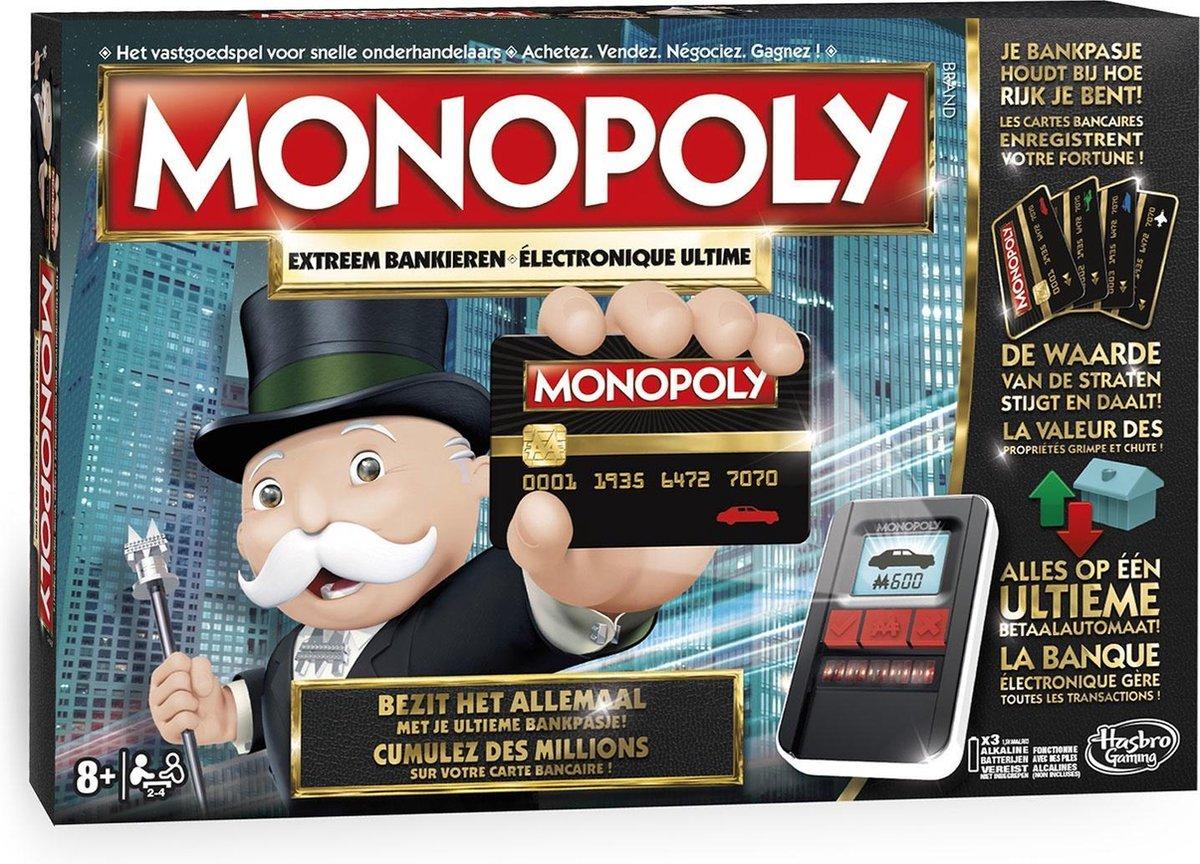 Monopoly Extreem Bankieren - Bordspel - Monopoly