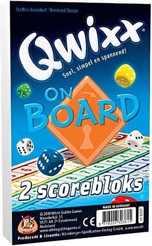 Afbeelding van het spel Qwixx On Board Bloks (extra scorebloks)