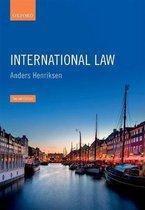 Boek cover International Law van Gleider Hernandez (Paperback)
