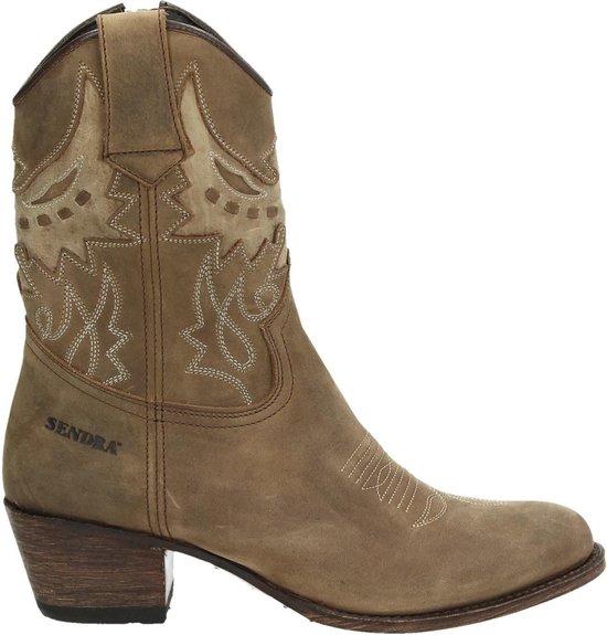 Sendra 16227 Debora cowboylaars Camel Maat 40