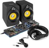 DJ set - Hercules DJControl Starlight DJ instapset met Bluetooth speakers - Complete set voor de beginnende slaapkamer DJ!