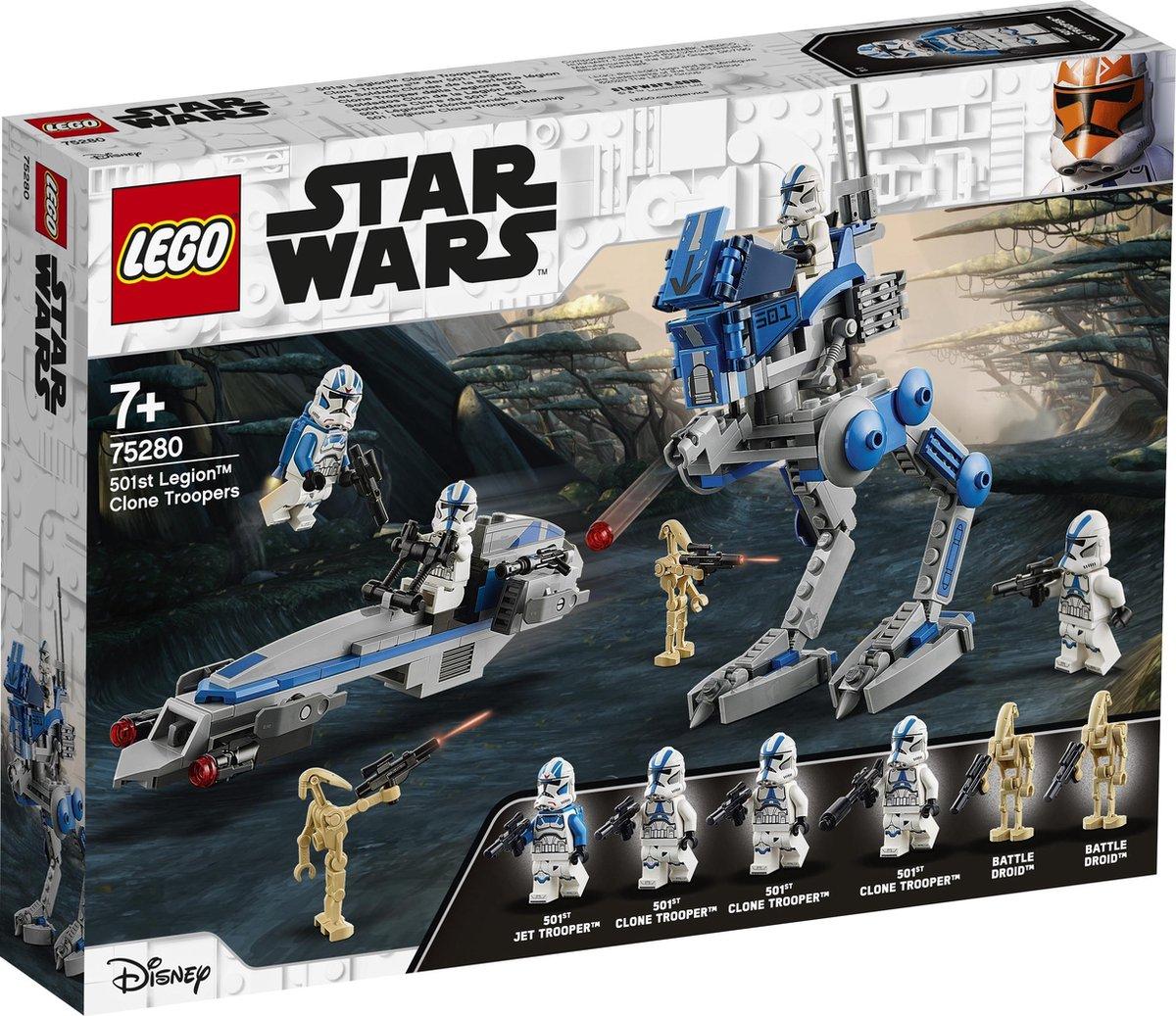 LEGO Star Wars 501st Legion Clone Troopers - 75280