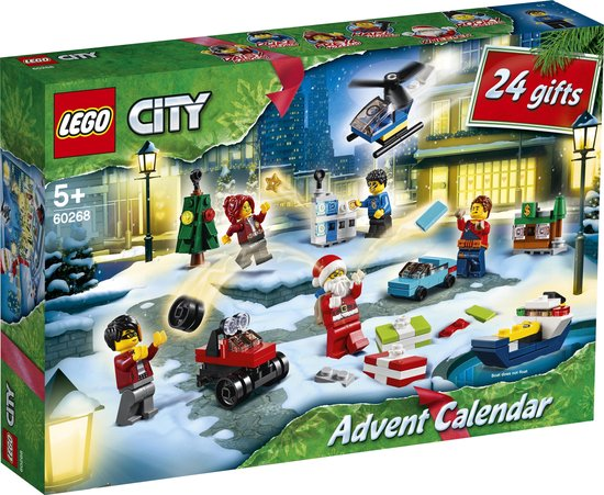 Afbeelding van LEGO City Adventskalender 2020 - 60268 speelgoed