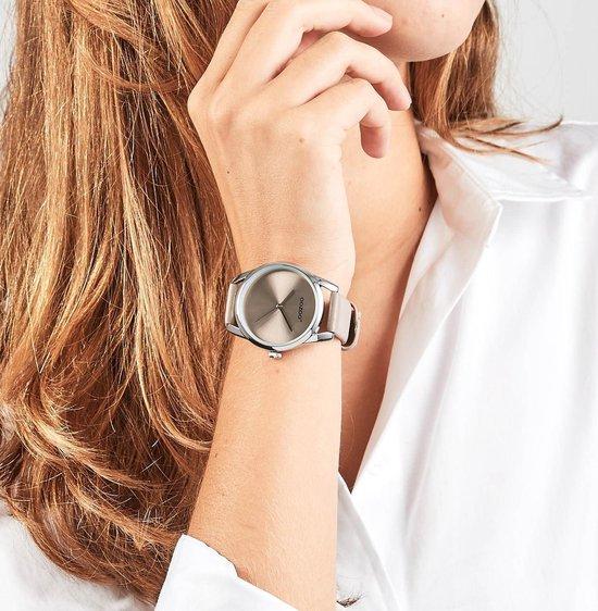 OOZOO Timepieces Taupe horloge  (36 mm) - Bruin - OOZOO