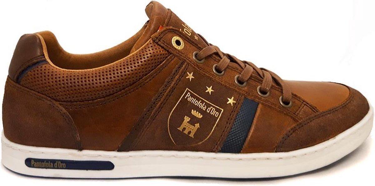 Pantofola d'Oro Mondovi Cognac Veterschoenen Heren 45 Veterschoenen