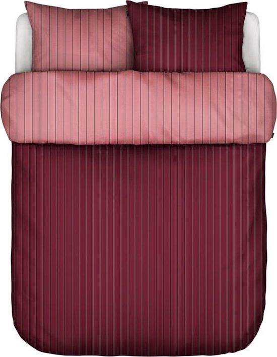 Marc O'Polo dekbedovertrek Harsor red - 2-persoons (200x200/220 cm incl. 2 slopen)